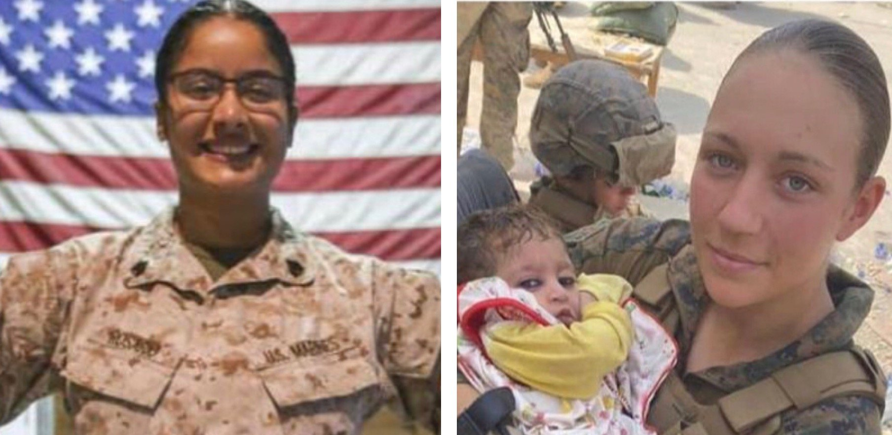 Two Female Marines Among American Service Members Killed in Kabul Blast: RIP Sgt. Nicole Gee and Sgt. Johanny Rosario