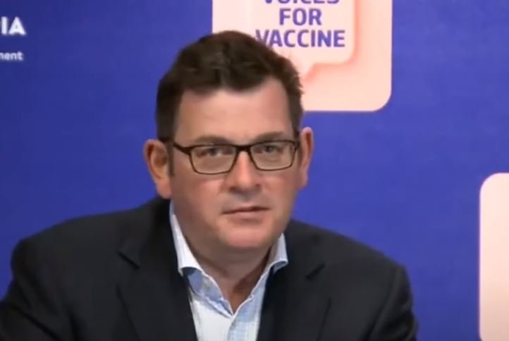 Aussie Politician Daniel Andrews: People Who Do Not Get COVID Vaccine Will Not Be Allowed Healthcare (VIDEO)