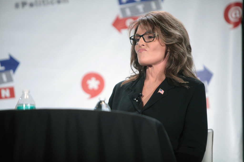 Image: Sarah Palin cites Israeli study showing the power of natural immunity to explain why she didn't get COVID-19 jab