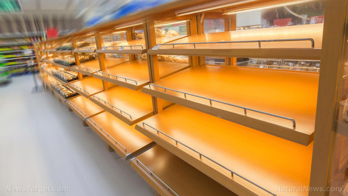 Image: Supply chain issues plaguing U.K., food shortages worsening