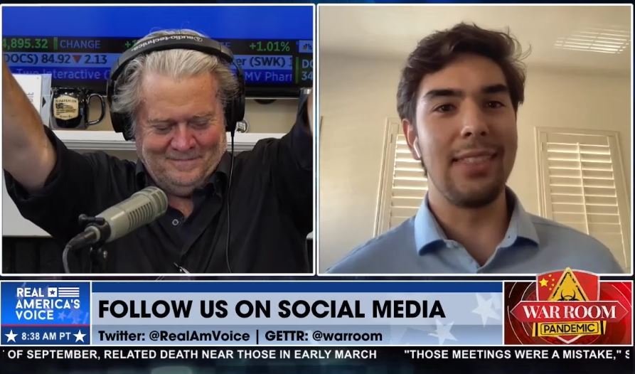 TGP's Jordan Conradson Joins Steve Bannon on The War Room Following Maricopa County's Chucri's Resignation — MORE COMING TODAY! (VIDEO)